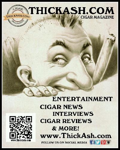 Thick Ash Cigar Magazine - Magazine cover