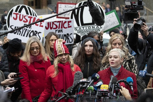 'The sky is blue again': Weinstein's accusers express relief