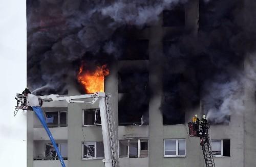 Gas explosion in Slovakia tower block kills 5, injures 40
