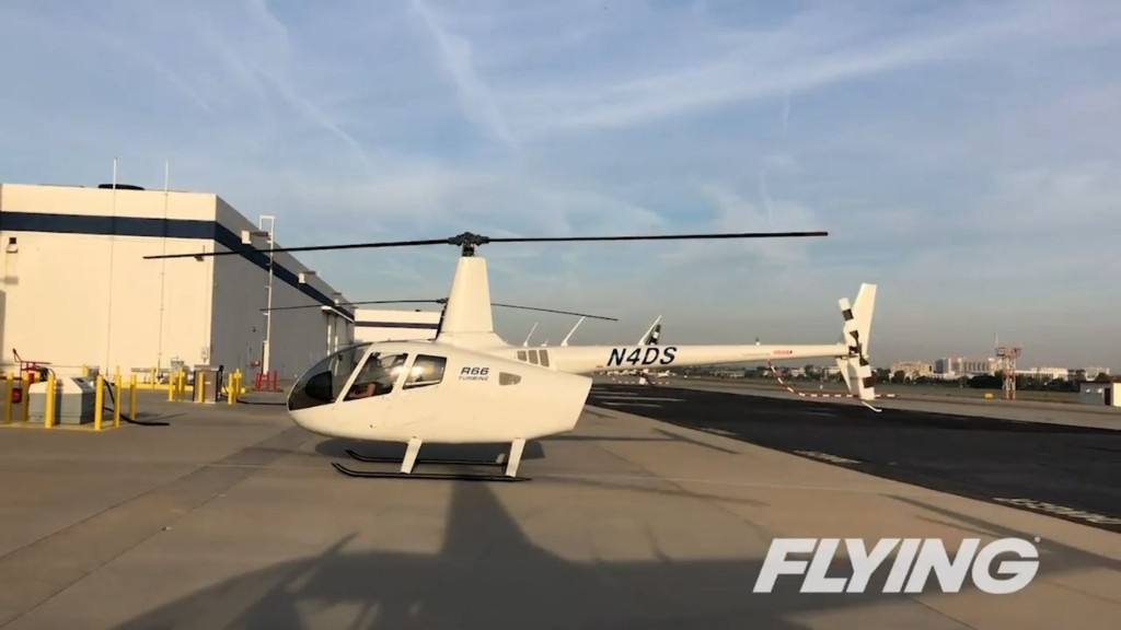 Flying With the Robinson R66