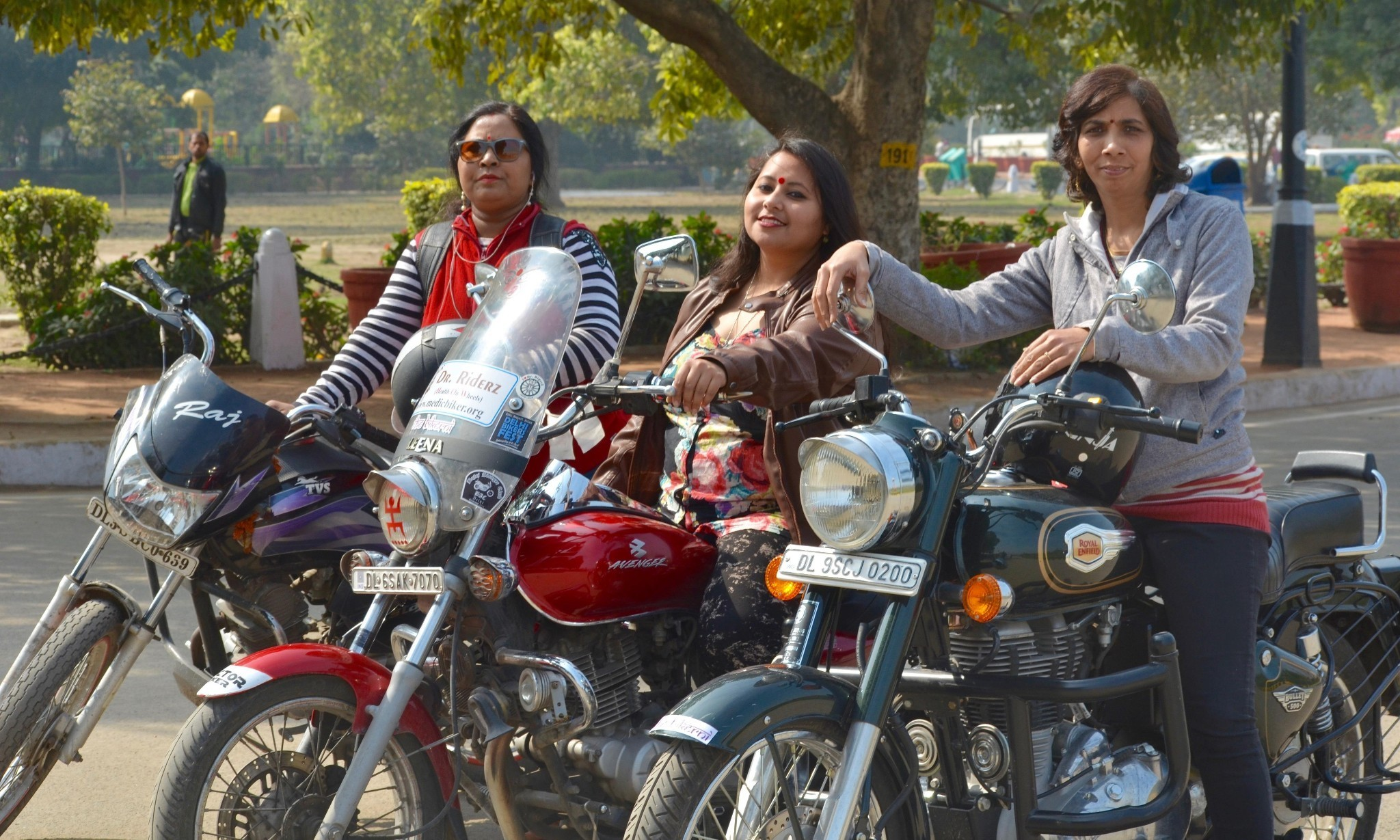 Rebels with a cause: the female biker clubs reclaiming Delhi's public space