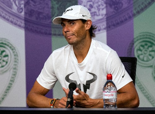 Frustration for Nadal as Wimbledon mission falls short