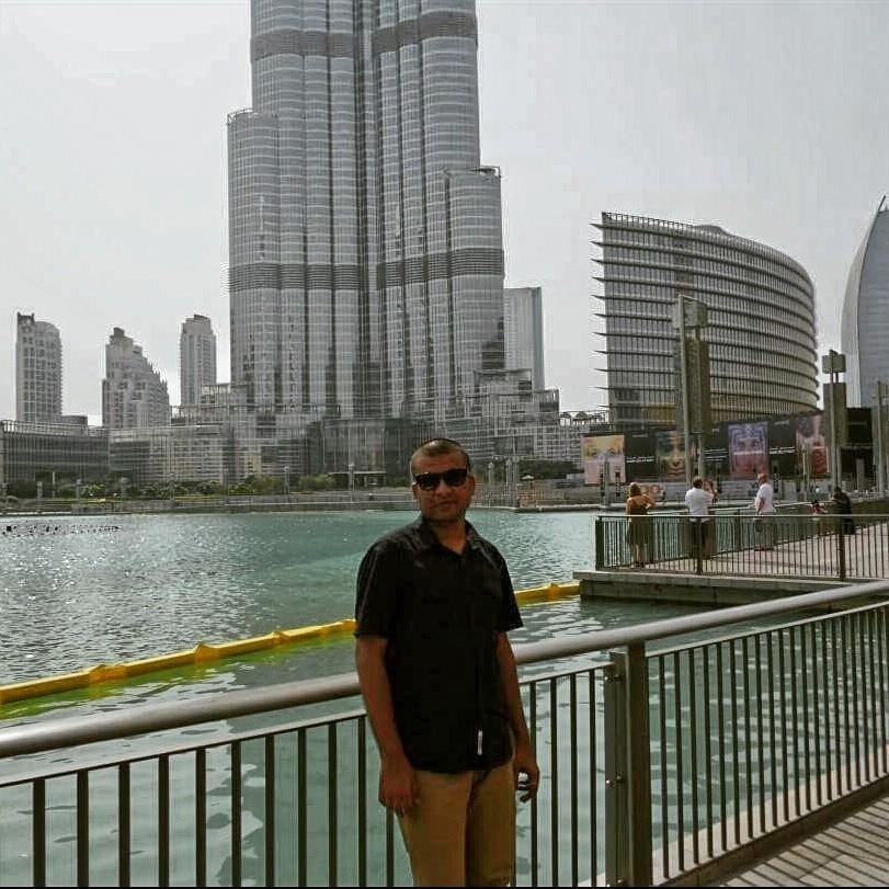 Tour of Dubai  - Magazine cover