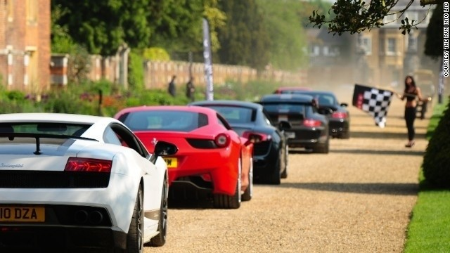 World's most stylish supercars take a luxury road trip Style