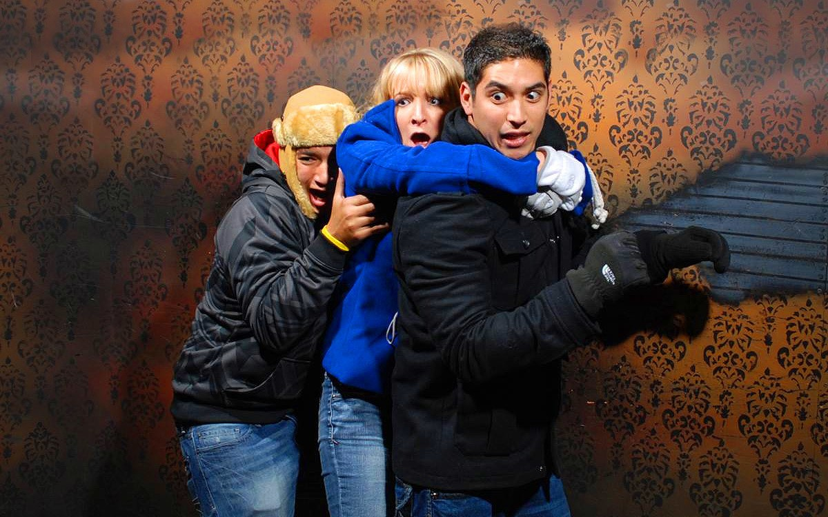 Pick of the Day: Hilarious Faces at Nightmares Fear Factory