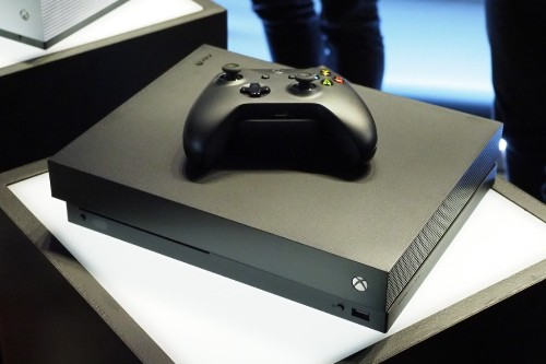 The Xbox One X is Microsoft's powerful new 4K console