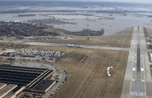 Floods expose threat to military posed by climate change