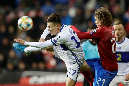 Czechs clinch Euro 2020 spot with 2-1 win over Kosovo