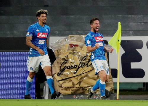 Soccer: Napoli leave Inter's Champions League hopes in the balance