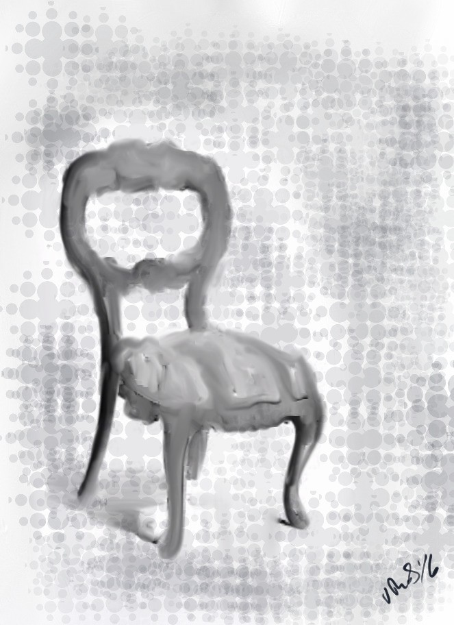 Paintings Of Furniture - Magazine cover