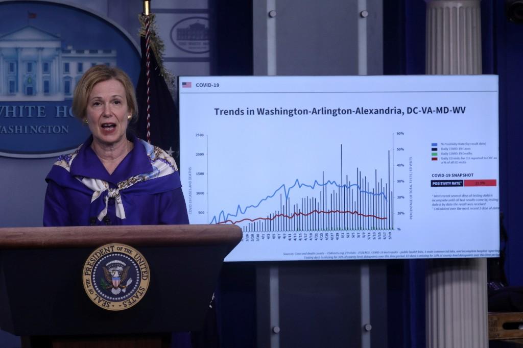 U.S. coronavirus 'extraordinarily widespread', say White House experts