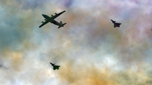 Japan scrambles jets after Chinese military exercises