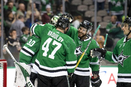 Stars' Bishop blanks Avs for 2nd straight shutout