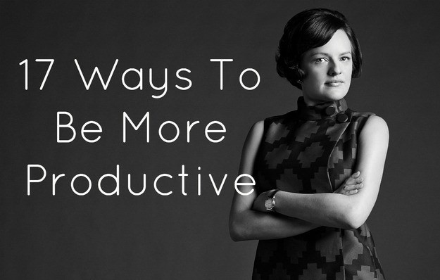17 Easy Ways To Be Insanely Productive