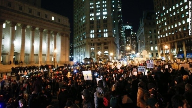 Protests feature demands, die-ins and calls for justice