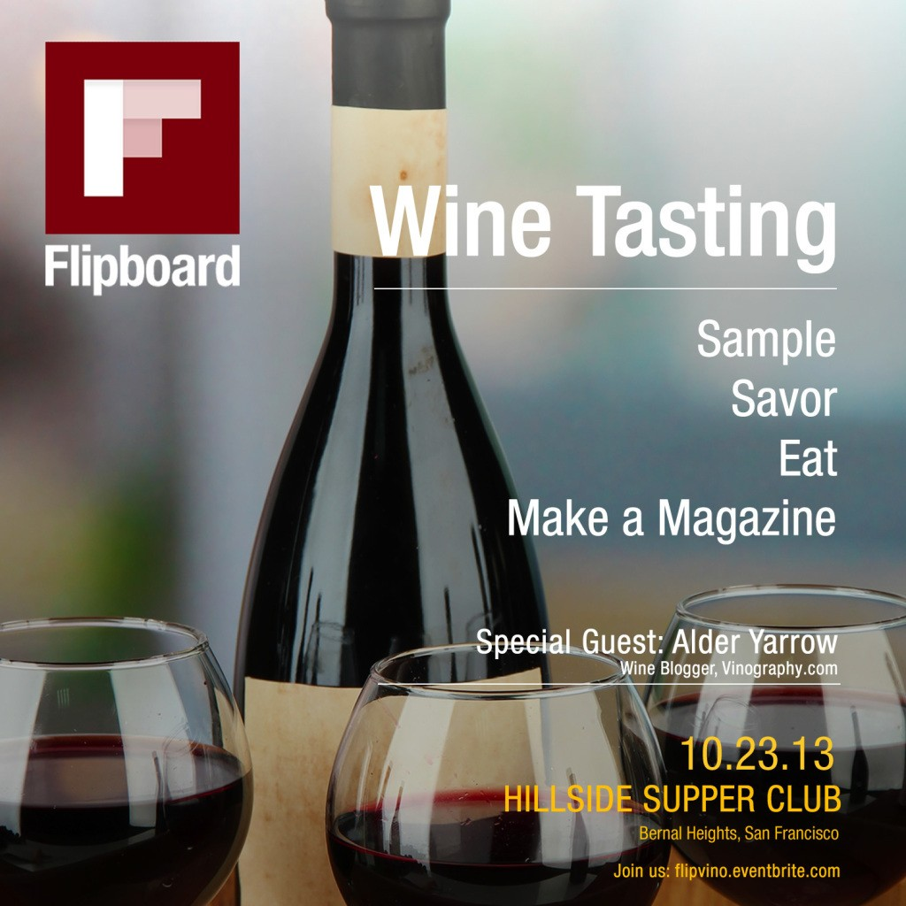 FlipVino: Join Us in San Francisco for an Evening of Wine Tasting and Magazine Making