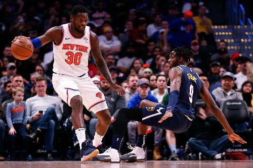 Jokic, Nuggets survive battle from Knicks