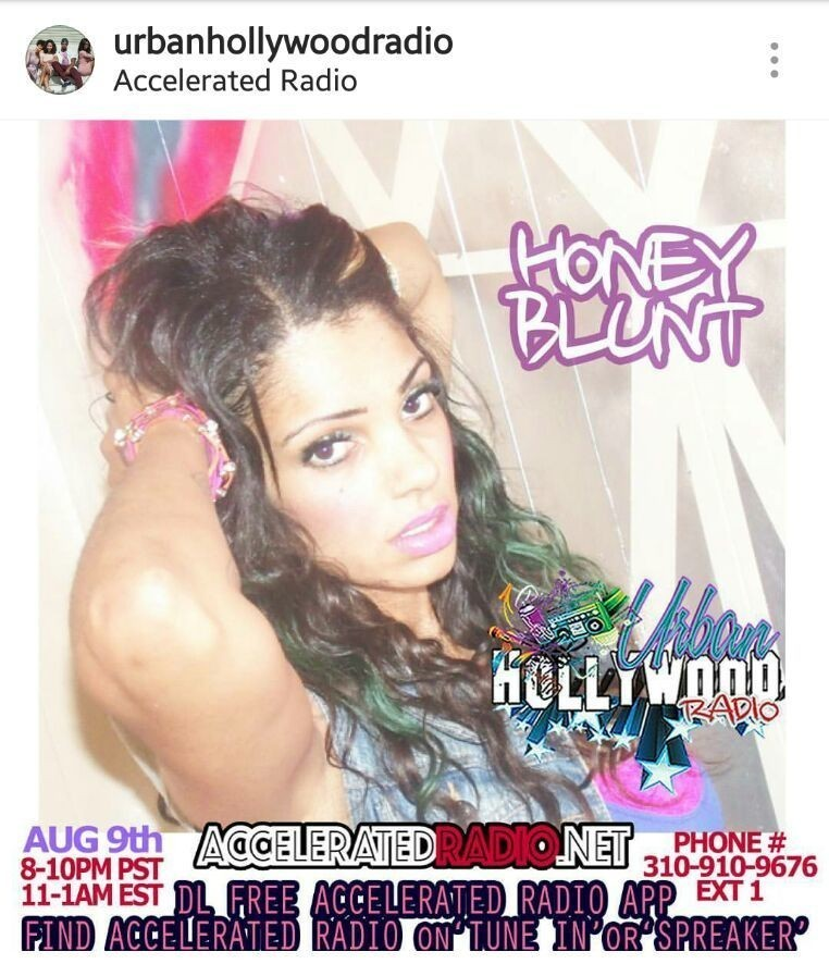 """#my❤ @bluntentinc #FEMCEE -@HONEYBLUNT  #TOMORROWNIGHT  #interview /!#SPINS  #callin afterheaing- #NEWHITsingle -( 2oferrythang ) #COMMENT  @urbanhollywoodradio  #bluntentertainmentrecordswest #indielabel #YOUTUBE- (bluntent2x1) """" 2 of errythang """" cover image"""