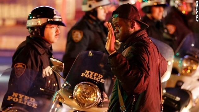 Protests erupt in wake of chokehold death decision