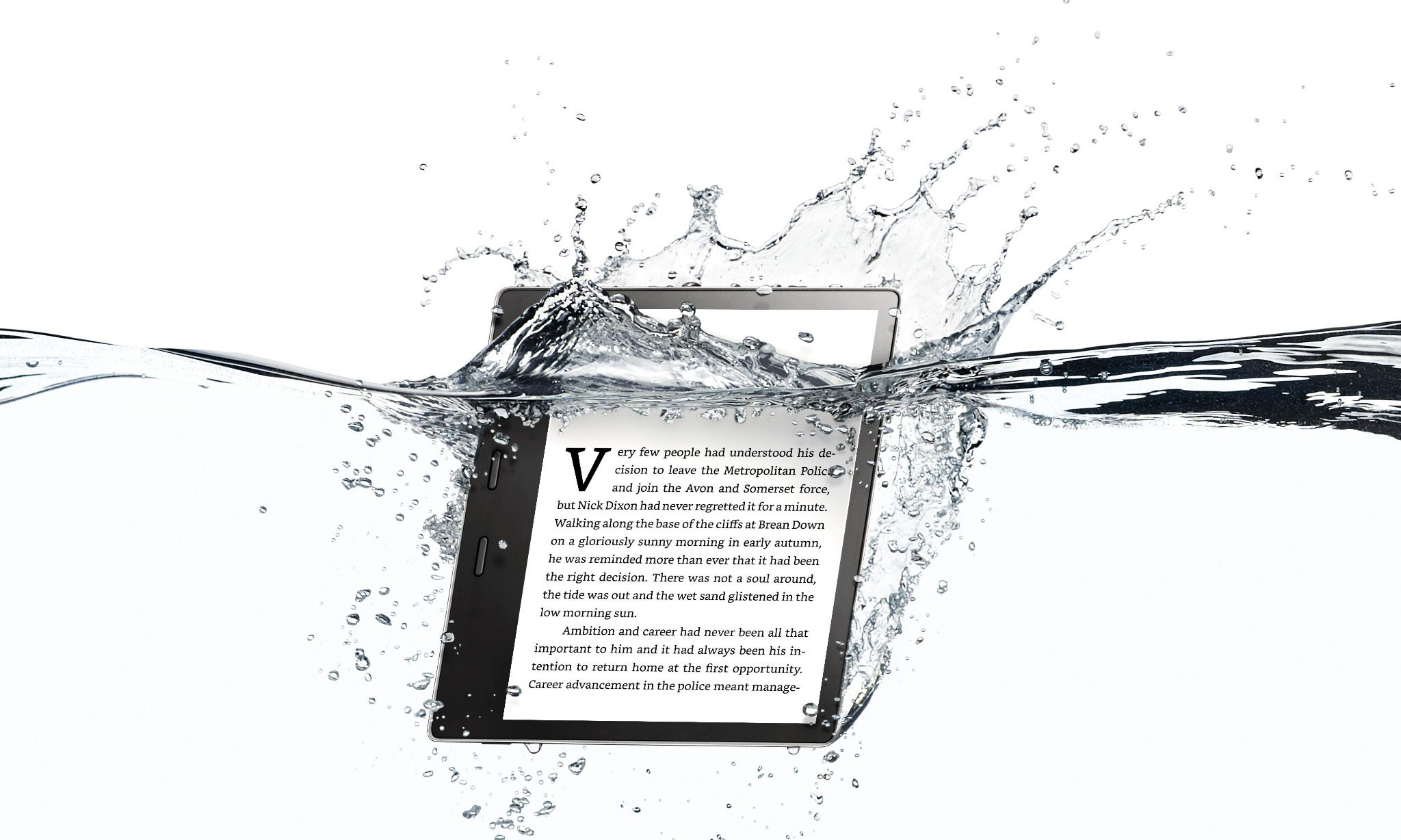 Kindle Oasis: Amazon finally launches a water resistant e-reader