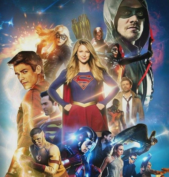 The Arrowverse  - Magazine cover