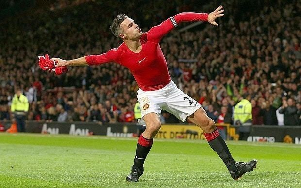 Six explanations for Robin van Persie taking his shirt off