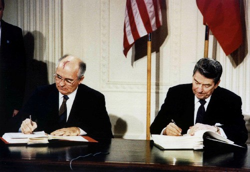 U.S. withdraws from Soviet-era nuclear missile accord with Russia