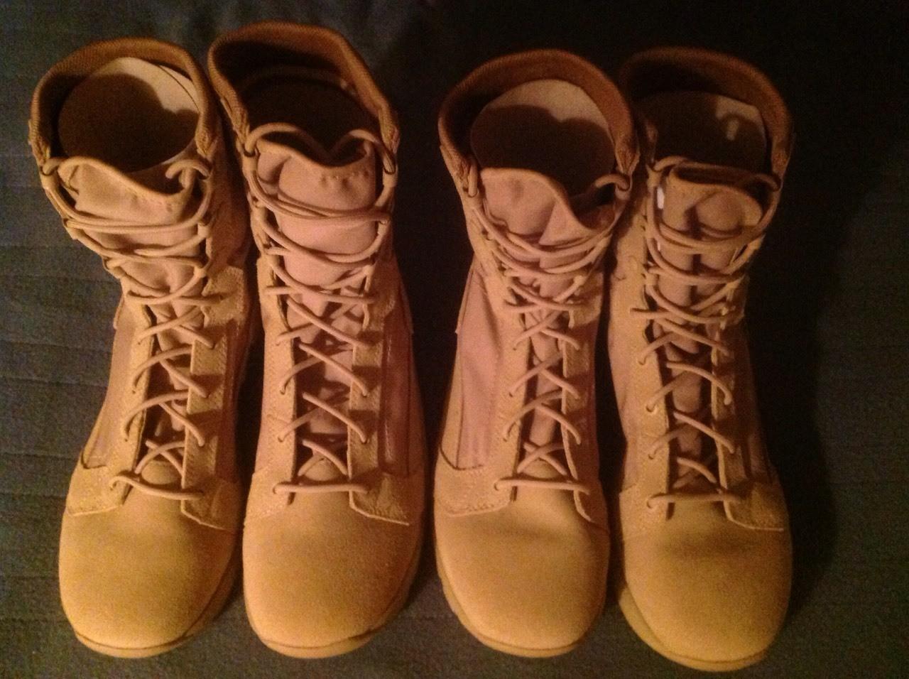I got my new combat Boots