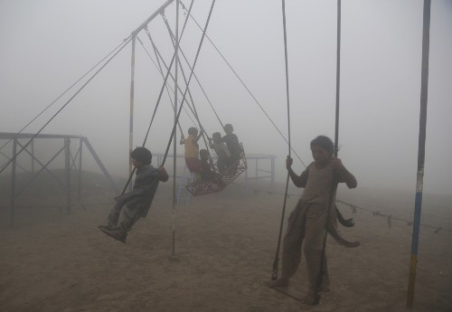 Air Pollution Crisis in South Asia: Pictures