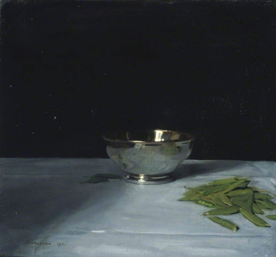 The Lustre Bowl - Sir William Nicholson - Collection: National Galleries of Scotland