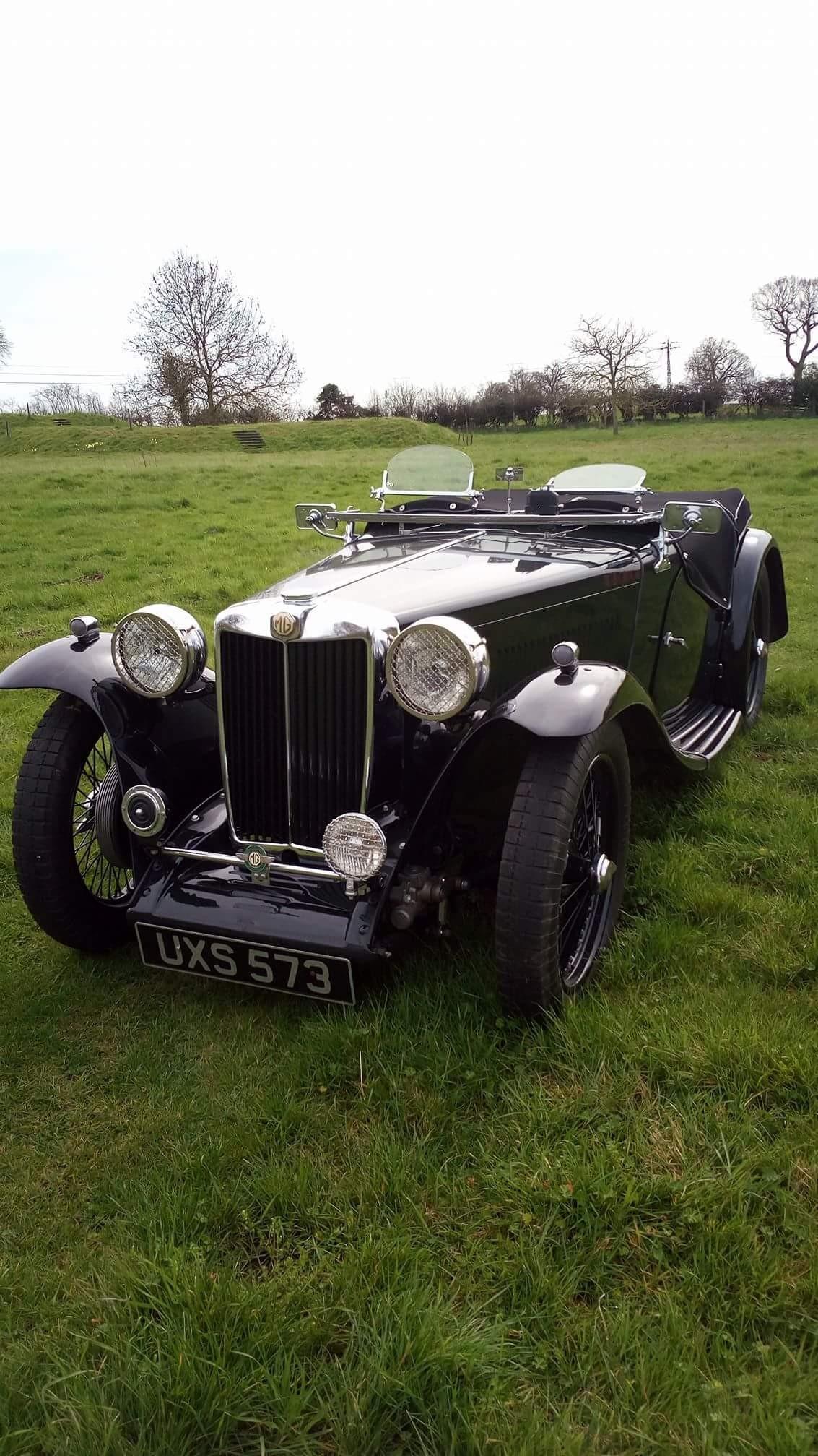 1939 MG TB Midget 379 built.