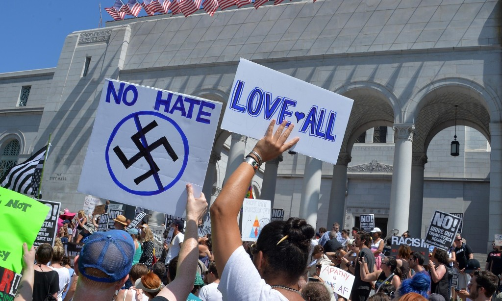 Daily Stormer forced on to dark web as Reddit and Facebook ban hate groups