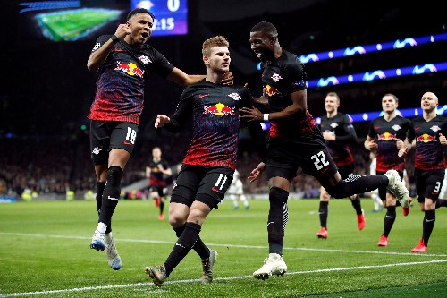 Werner penalty gives slick Leipzig win at Spurs