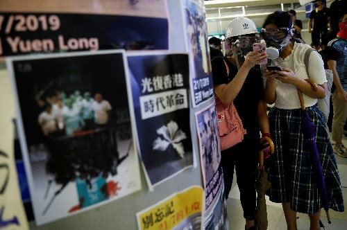 Exclusive: Messaging app Telegram moves to protect identity of Hong Kong protesters