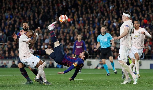 Soccer: Messi urges Barcelona to show more early focus after climbing quarter-final barrier