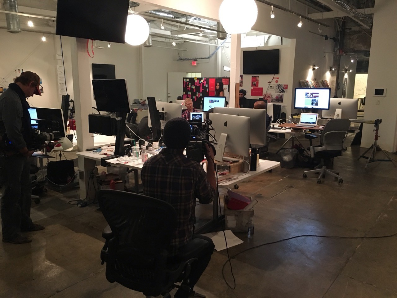 Behind the scenes in the Flipboard newsroom