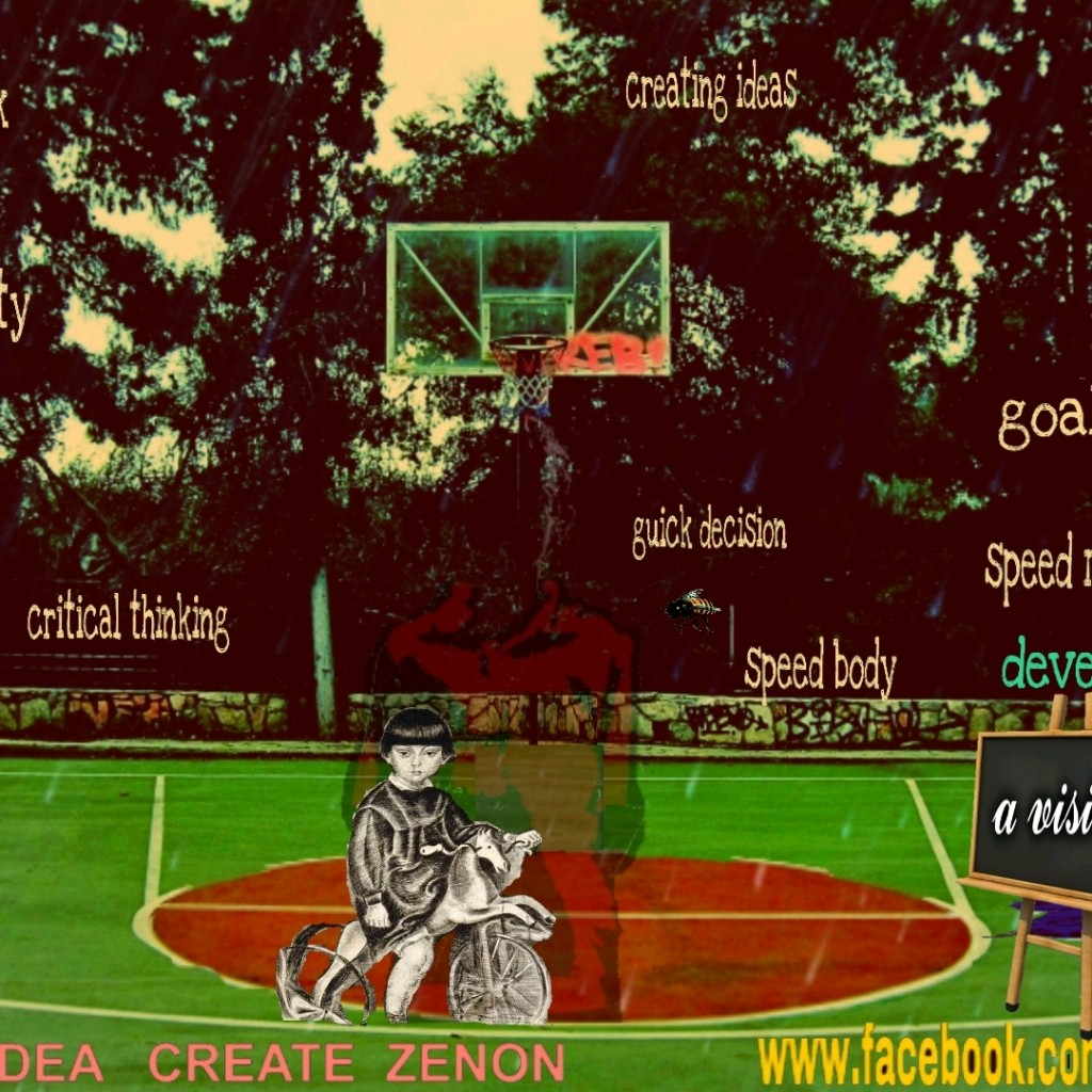 THINK Sport Court  by Z - by magikdo system - cover