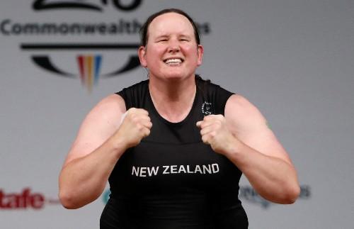 Transgender weightlifter Hubbard continues Tokyo bid in Australia