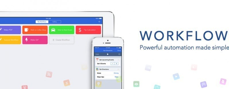 Workflow for iOS helps automate everything on your phone