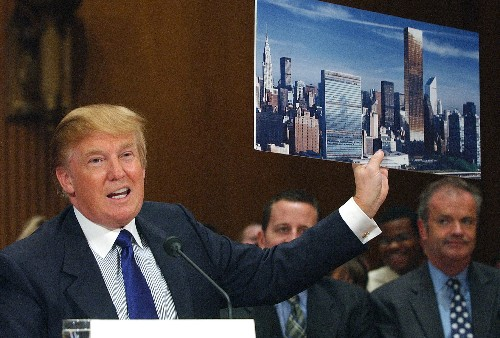 In UN building, Trump sees a real estate deal that got away