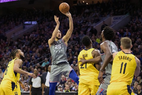Pacers muscle past 76ers for big road win