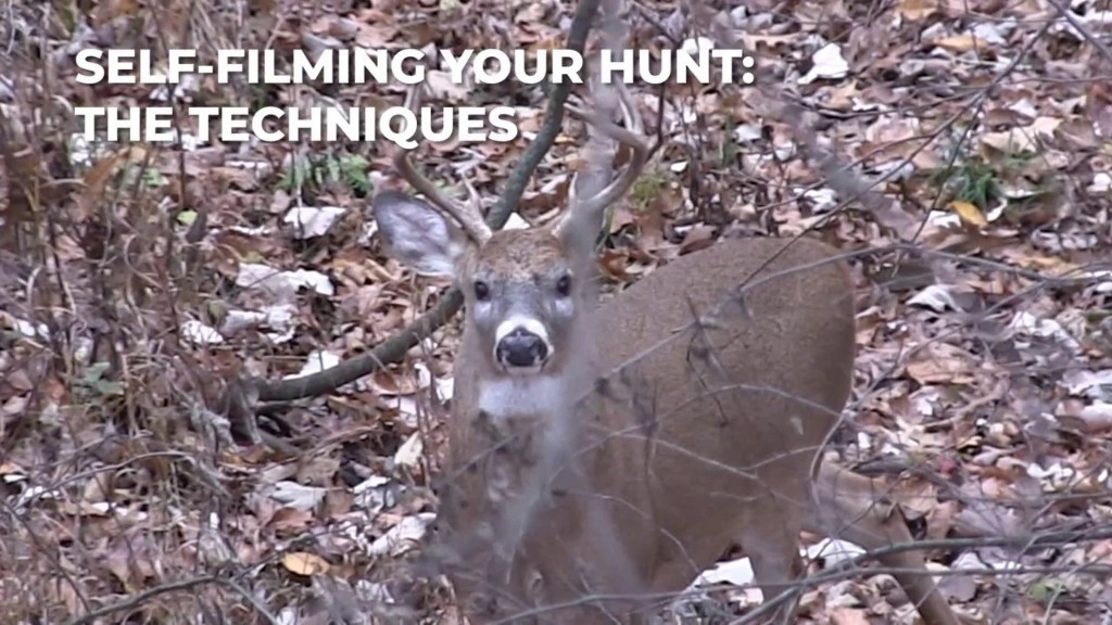 How to Self-Film Your Hunt Part 2: Techniques