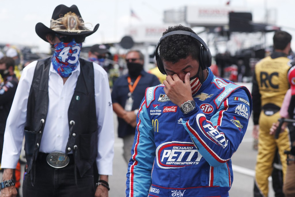 'The noose was real' - NASCAR releases photo from Talladega