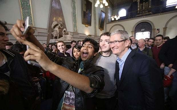 Apple boss: Next generation of children 'will not know what money is'
