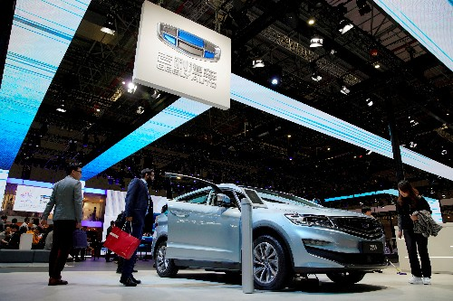 China's Geely picks Swedish software firm for driverless cars