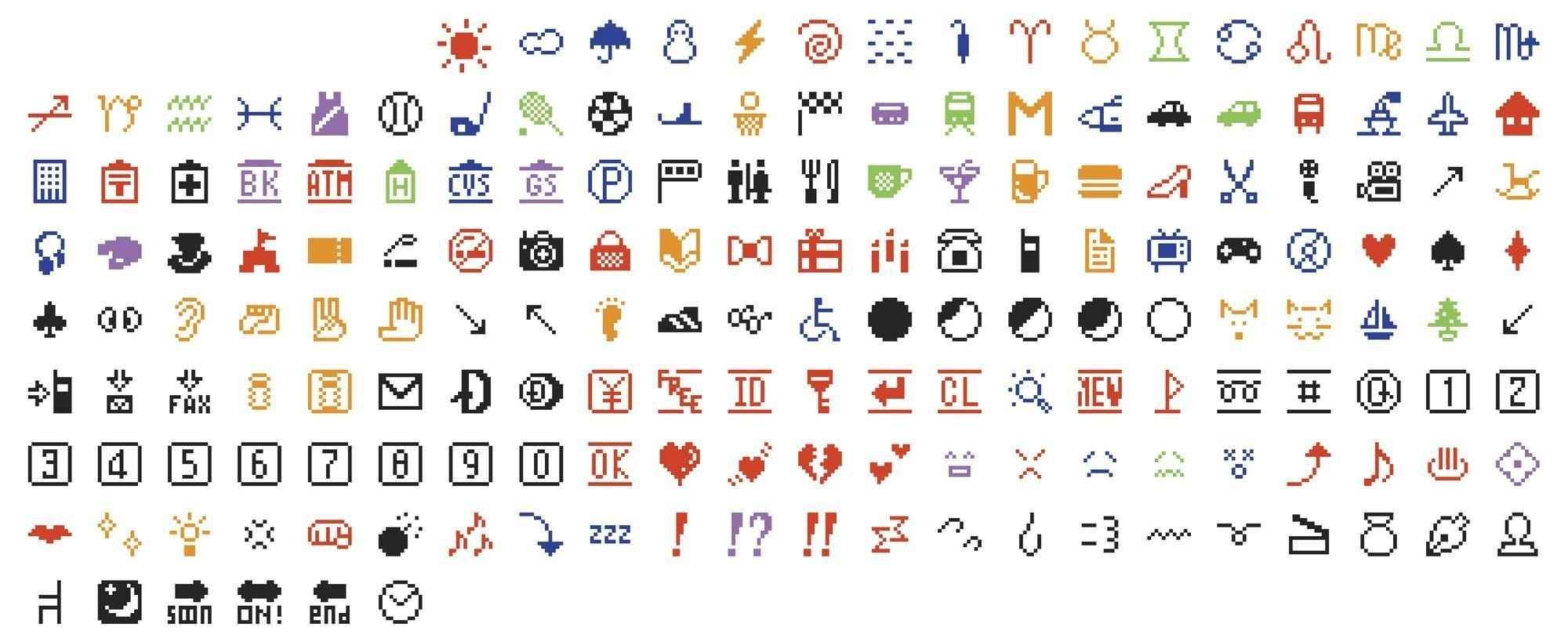 The inventor of emoji on his famous creations – and his all-time favorite