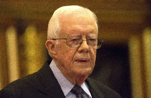 'Tell the truth ... for a change': ex-President Carter's advice to Trump