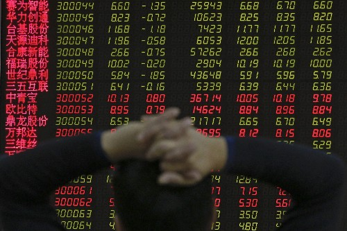 World shares retreat on fears of global, Chinese slowdown