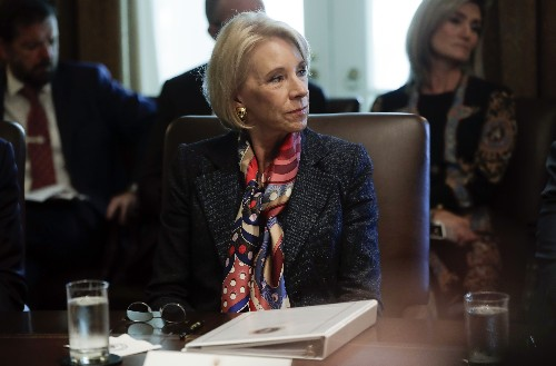 Democrats, DeVos clash in fiery hearing that turned personal