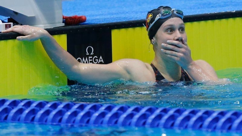 It's a whole new life for Mallory Comerford since she tied Katie Ledecky at NCAAs